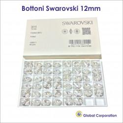 Bottoni Swarovski Ø 12