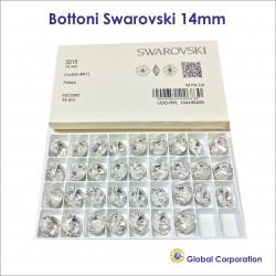 Bottoni Swarovski Ø 14