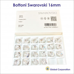 Bottoni Swarovski Ø 16